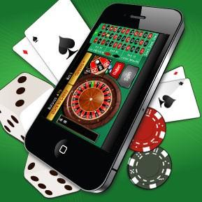 Kännykän ja spin palace kasinon logo